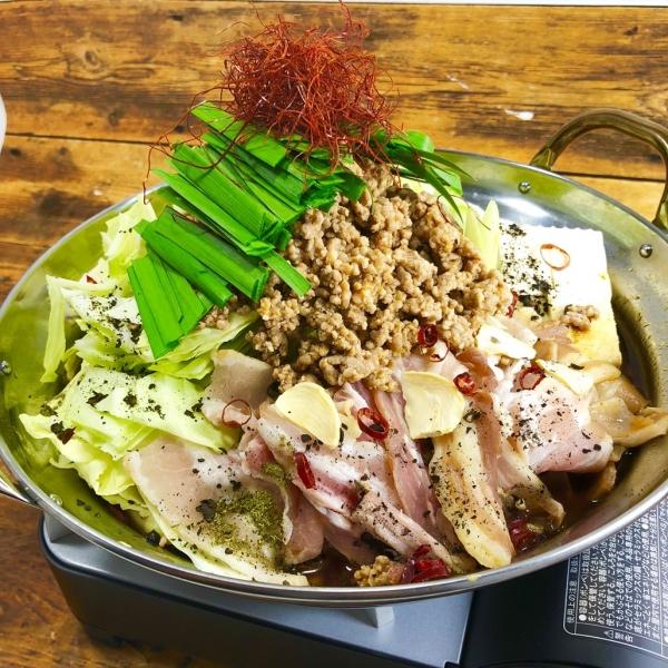 2018年の一度は食べてみたいお鍋人気1位!『燻製豚肉×花山椒の旨辛しびれ鍋』